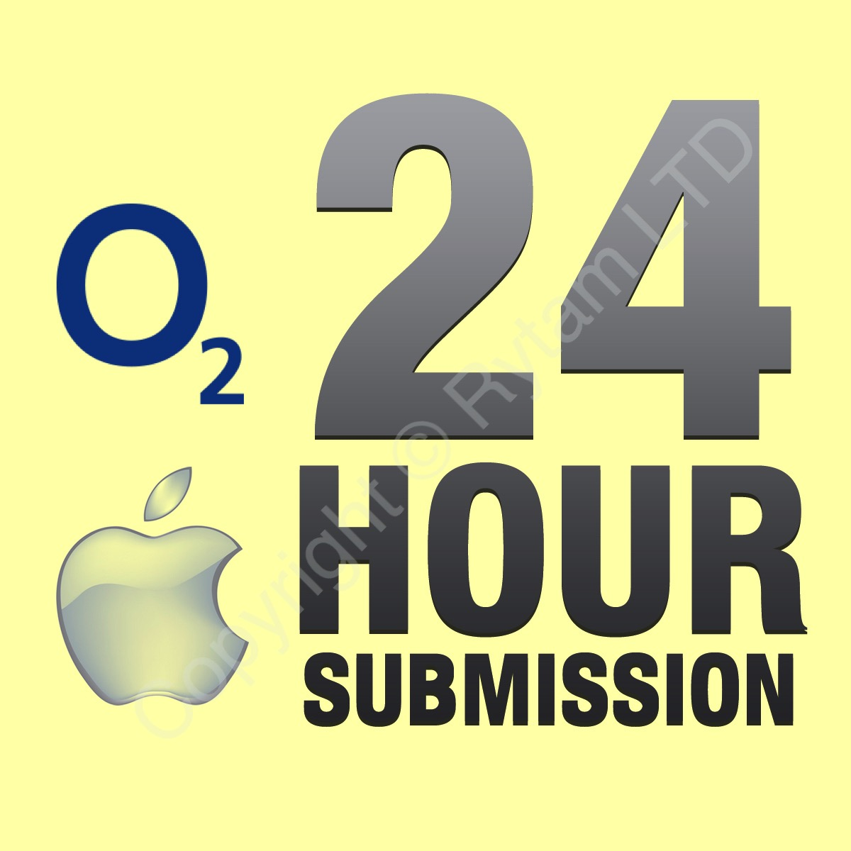 O2 UK - Apple iPad - All Models Unlock Service