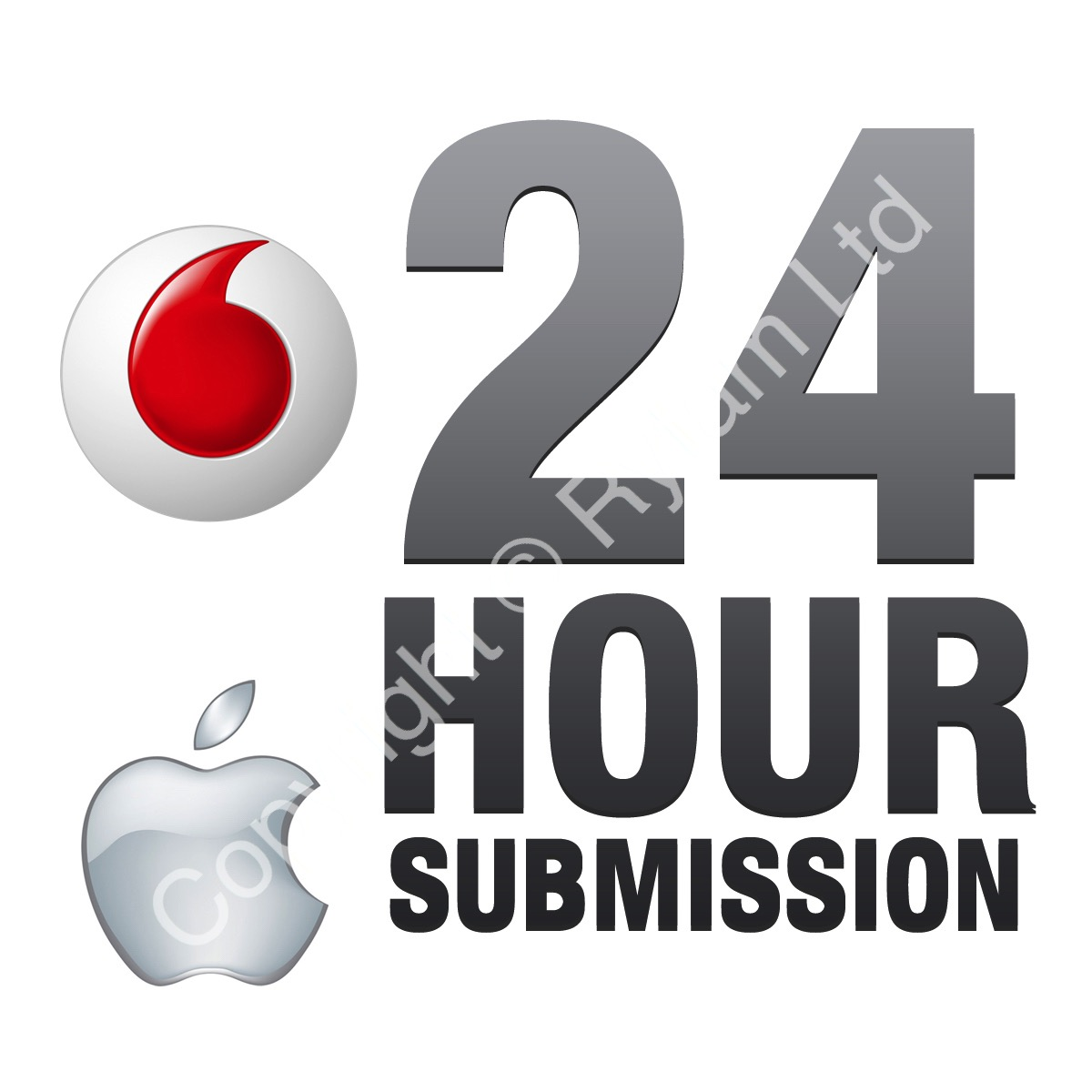 Vodafone UK - Apple iPad / Mini - All Models (Excluding Air / Pro Models) Unlock Service