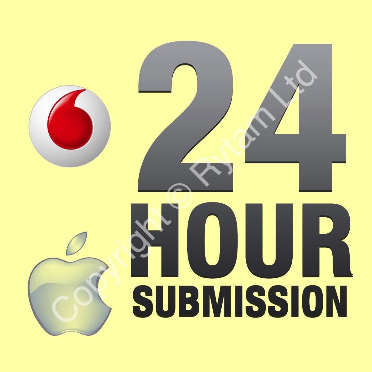 Vodafone UK - Apple iPhone 3G / 4 / 4S / 5 / 5C / 5S / 6 Unlock Service